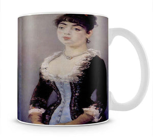 Portrait of Madame Michel LCvy by Manet Mug - Canvas Art Rocks - 1