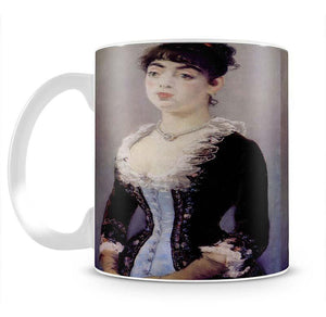 Portrait of Madame Michel LCvy by Manet Mug - Canvas Art Rocks - 2