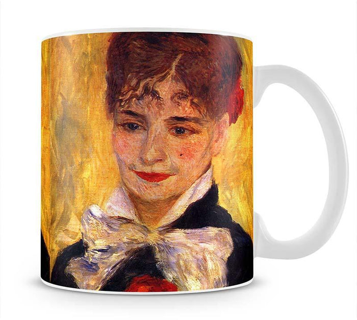Portrait of Mme Iscovesco by Renoir Mug