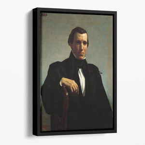 Portrait of Monsieur M By Bouguereau Floating Framed Canvas