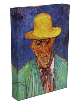 Portrait of Patience Escalier Shepherd in Provence by Van Gogh Canvas Print & Poster - Canvas Art Rocks - 3
