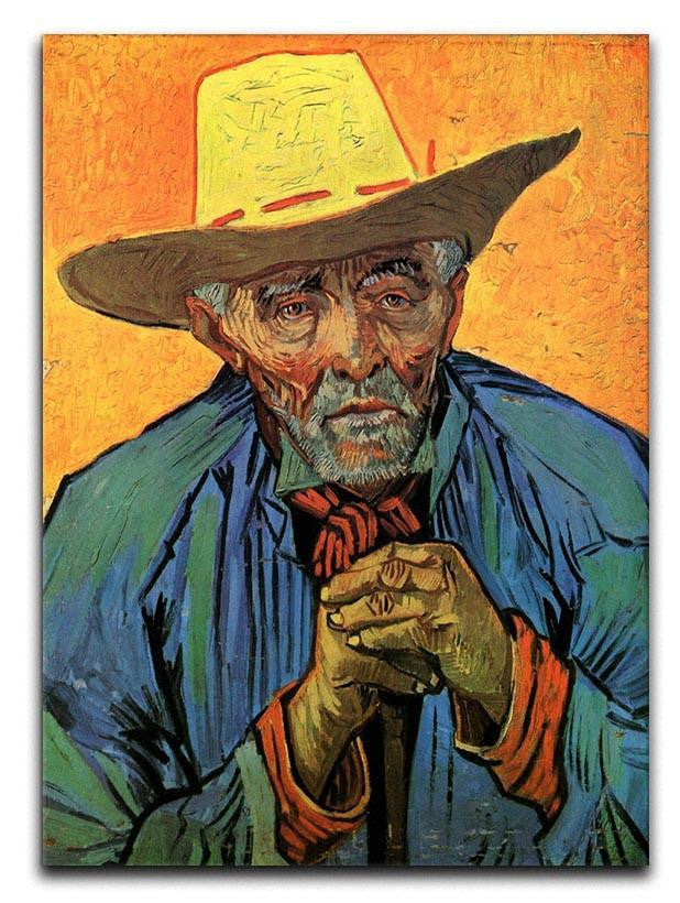 Portrait of Patience Escalier by Van Gogh Canvas Print or Poster