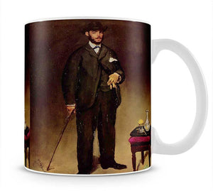 Portrait of ThCodore Duret by Manet Mug - Canvas Art Rocks - 1