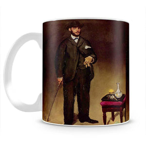 Portrait of ThCodore Duret by Manet Mug - Canvas Art Rocks - 2