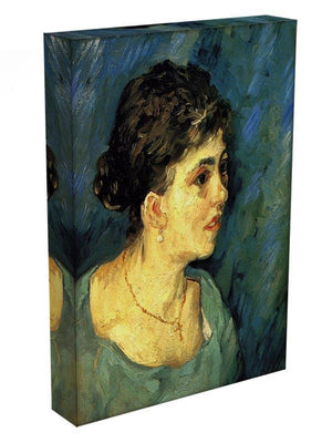 Portrait of Woman in Blue by Van Gogh Canvas Print & Poster - Canvas Art Rocks - 3