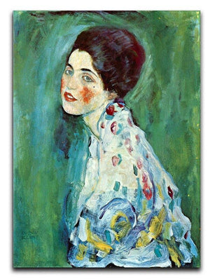 Portrait of a Lady by Klimt Canvas Print or Poster  - Canvas Art Rocks - 1