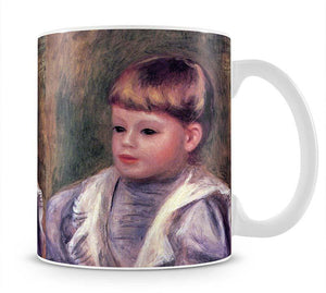 Portrait of a child Philippe Gangnat by Renoir Mug - Canvas Art Rocks - 1