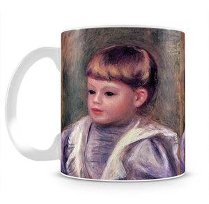 Portrait of a child Philippe Gangnat by Renoir Mug - Canvas Art Rocks - 2