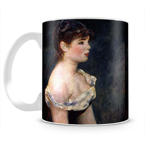 Portrait of a young girl by Renoir Mug - Canvas Art Rocks - 2