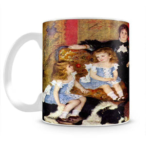 Portrait of the Mrs Charpentier and her children by Renoir Mug - Canvas Art Rocks - 2