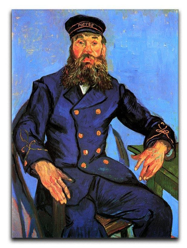 Portrait of the Postman Joseph Roulin by Van Gogh Canvas Print or Poster