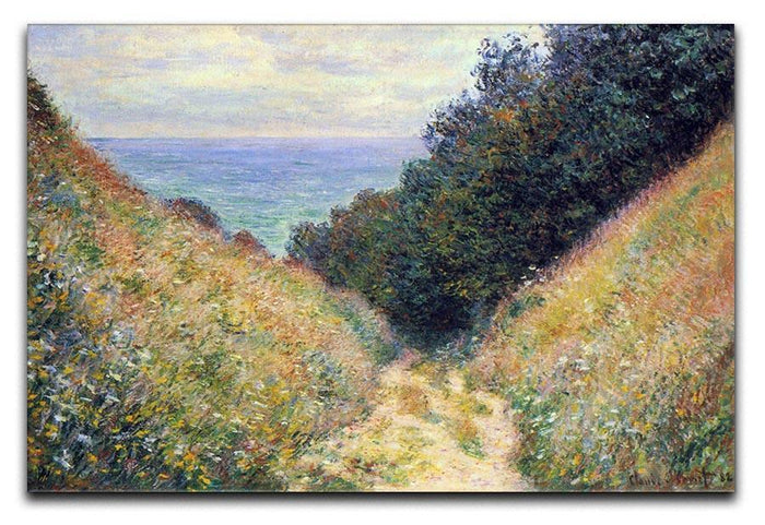Pourville 1 by Monet Canvas Print or Poster