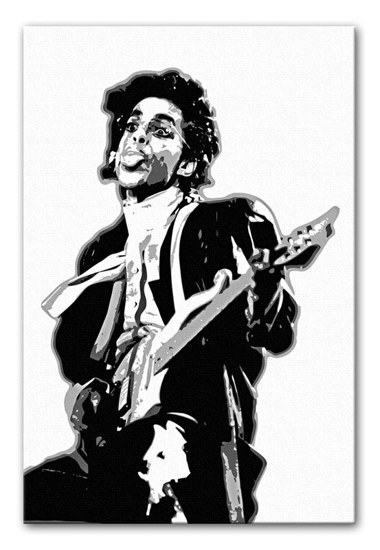 Prince on Stage Canvas Print or Poster