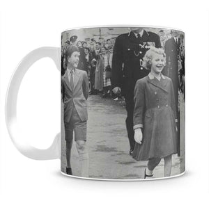 Prince Charles and Princess Anne as children Mug - Canvas Art Rocks - 2