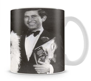 Prince Charles with Shirley Bassey Mug - Canvas Art Rocks - 1