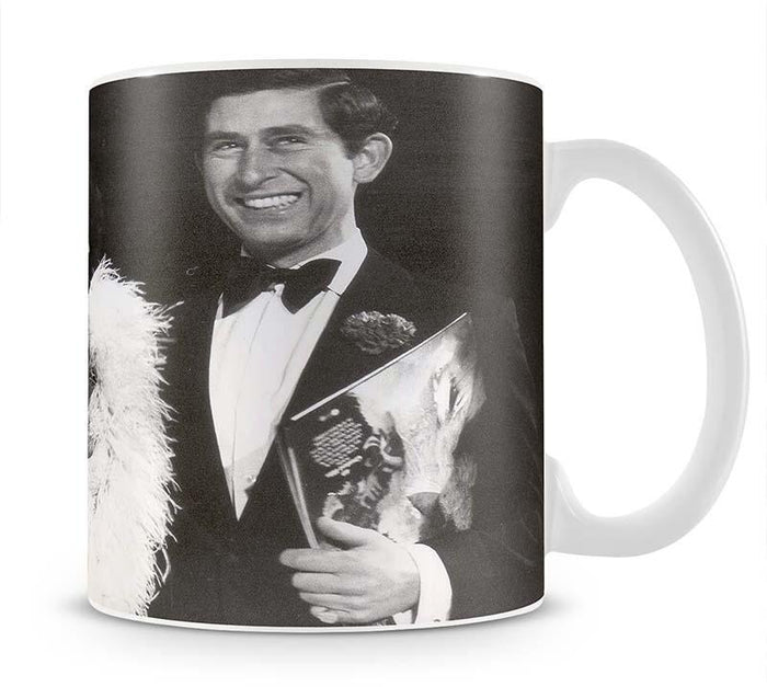 Prince Charles with Shirley Bassey Mug