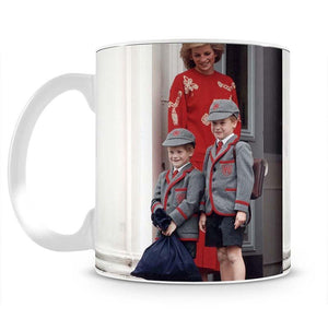 Prince Harry and Prince William at Wetherby School Mug - Canvas Art Rocks - 2