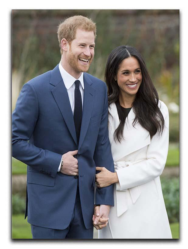 Prince Harry and fiance Meghan Markle announce their engagement Canvas Print or Poster  - Canvas Art Rocks - 1