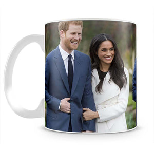 Prince Harry and fiance Meghan Markle announce their engagement Mug - Canvas Art Rocks - 2