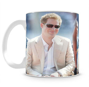 Prince Harry during the Diamond Jubilee tour in the Bahamas Mug - Canvas Art Rocks - 2