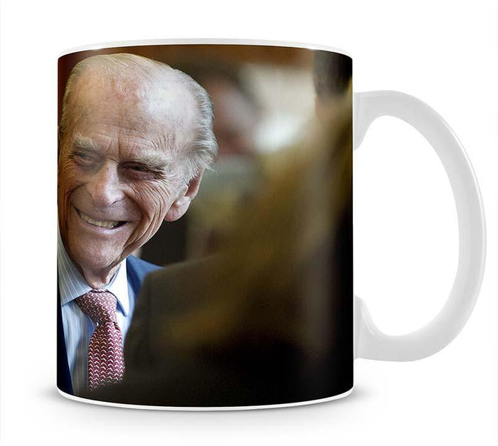 Prince Philip at the Journalists Charity at Stationers Hall Mug