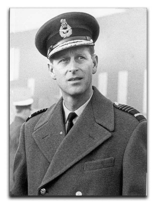 Prince Philip in Grimsby Canvas Print or Poster  - Canvas Art Rocks - 1