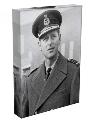 Prince Philip in Grimsby Canvas Print or Poster - Canvas Art Rocks - 3