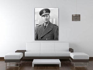 Prince Philip in Grimsby Canvas Print or Poster - Canvas Art Rocks - 4