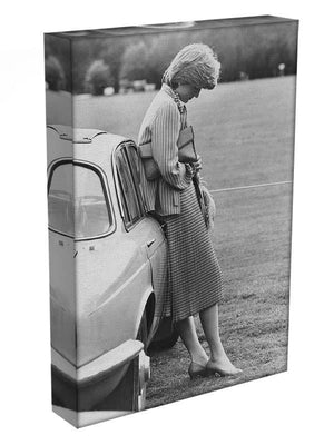 Princess Diana at a polo match Canvas Print or Poster - Canvas Art Rocks - 3