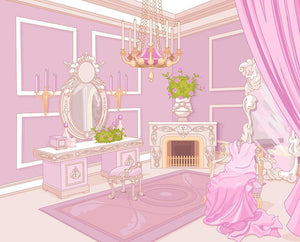 Princess dressing room in a palace Wall Mural Wallpaper - Canvas Art Rocks - 1