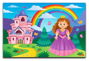 Princess theme image 2 Canvas Print or Poster  - Canvas Art Rocks - 1