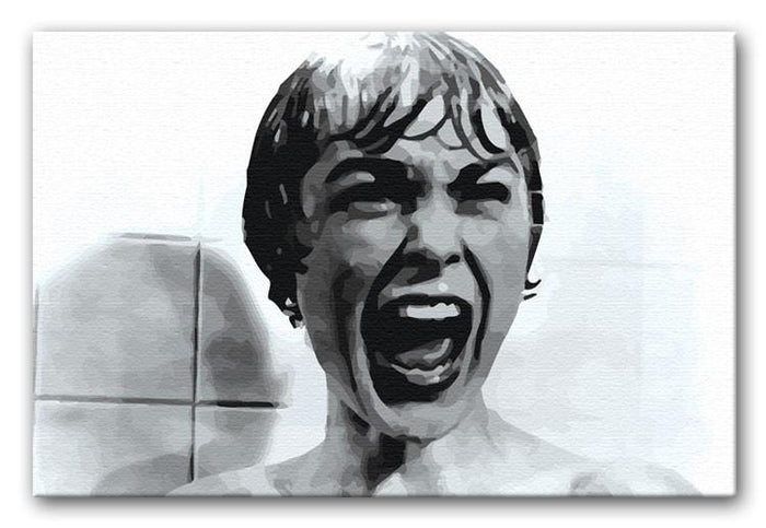 Psycho Canvas Print or Poster