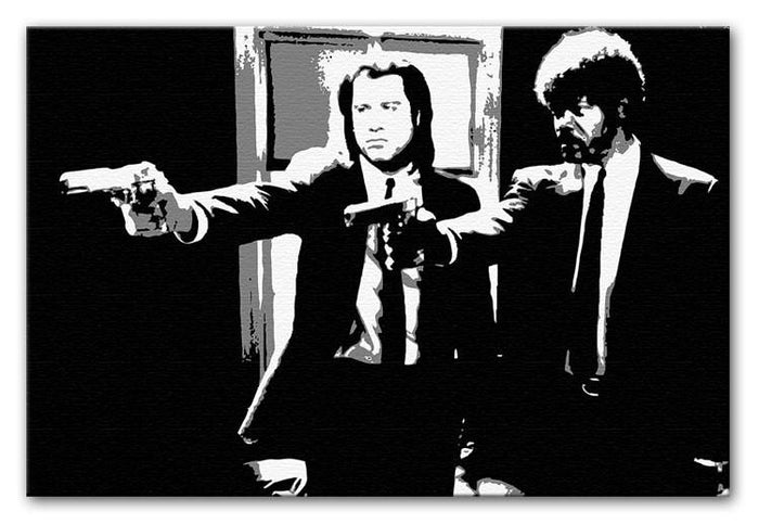 Pulp Fiction Path of the Righteous Man Canvas Print or Poster