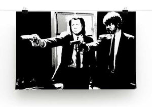 Pulp Fiction Path of the Righteous Man Print - Canvas Art Rocks - 2