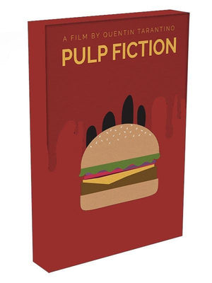 Pulp Fiction Burger Minimal Movie Canvas Print or Poster - Canvas Art Rocks - 3