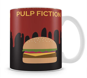 Pulp Fiction Burger Minimal Movie Mug - Canvas Art Rocks - 1