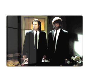 Pulp Fiction Coloured HD Metal Print