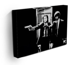 Pulp Fiction Path of the Righteous Man Canvas Print & Poster - Canvas Art Rocks