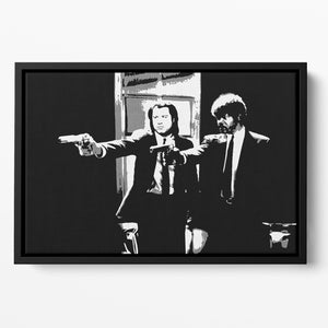 Pulp Fiction Path of the Righteous Man Floating Framed Canvas