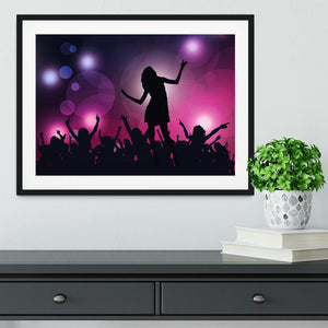 Purple Dancers Framed Print - Canvas Art Rocks - 1