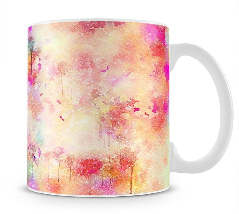 Purple Watercolour Mug - Canvas Art Rocks - 1