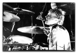 Queen Drummer Roger Taylor on stage Canvas Print or Poster  - Canvas Art Rocks - 1