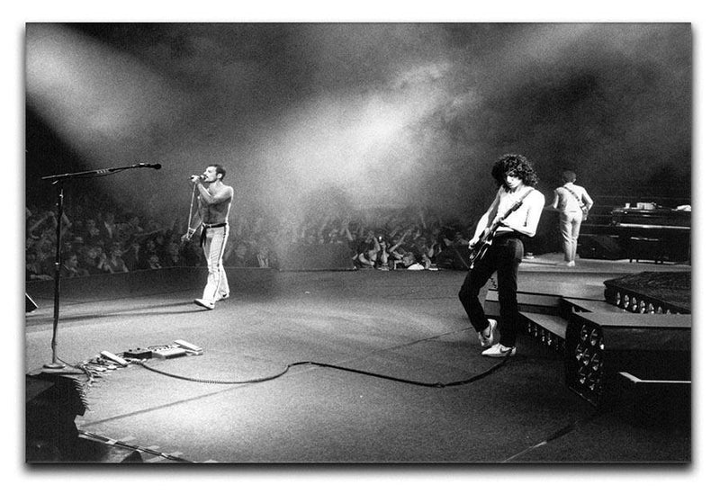 Queen Live Canvas Print or Poster  - Canvas Art Rocks - 1