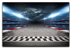 Race Track Canvas Print or Poster  - Canvas Art Rocks - 1