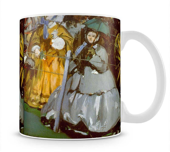 Racecourse by Manet Mug