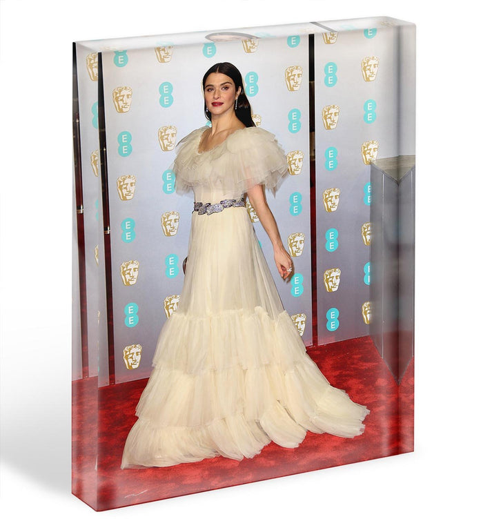 Rachel Weisz at the Baftas Acrylic Block