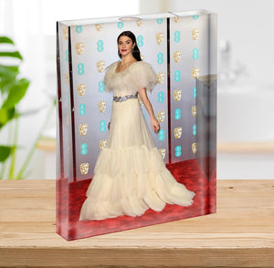 Rachel Weisz at the Baftas Acrylic Block - Canvas Art Rocks - 2