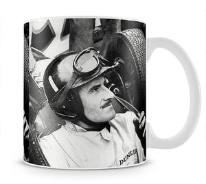 Racing driver Graham Hill Mug - Canvas Art Rocks - 1