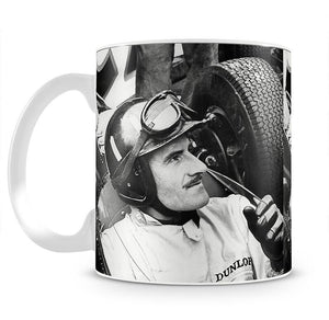 Racing driver Graham Hill Mug - Canvas Art Rocks - 2