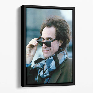 Ray Davies of the Kinks Floating Framed Canvas